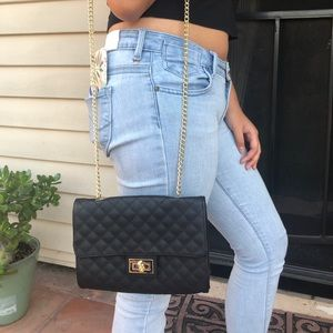 Lulu Leather Crossbody